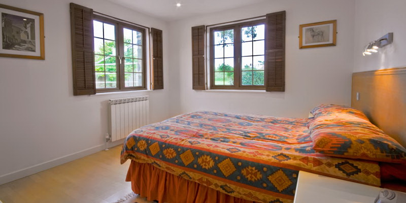 La Pointe Farm - Guernsey Self Catering - Vazon Apartment - Double Bedroom