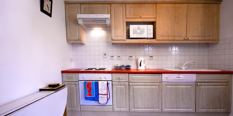 La Pointe Farm - Guernsey Self Catering - Mirus Cottage - Kitchen